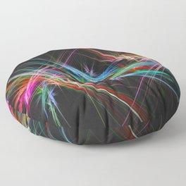 Laser show Floor Pillow