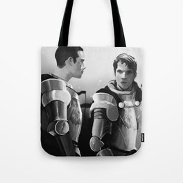 The Wolfpack Will Ride Tote Bag