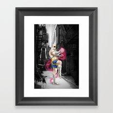 Sagat Framed Art Print