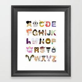 Futuralpha Framed Art Print