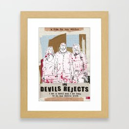 Devil's Rejects - Halloween special Framed Art Print