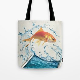 Two Dimensional Freedom Tote Bag