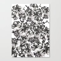 orchid Canvas Prints featuring orchid by GYYO