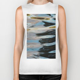Abstract Water Surface Biker Tank