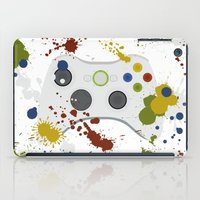 xbox iPad Cases featuring Controller Graffitti XBOX by AngoldArts