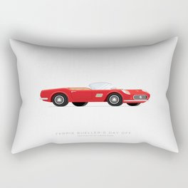 Ferris Bueller's Day Off  | Famous Cars Rectangular Pillow