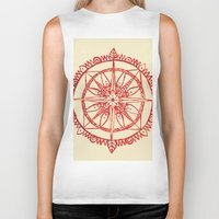 wander Biker Tanks featuring Wander by Samantha Crepeau