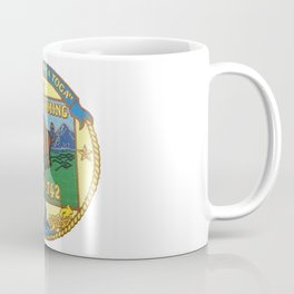 USS WYOMING (SSBN-742) PATCH Coffee Mug