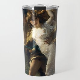The Storm, 1880 by Pierre Auguste Cot Travel Mug