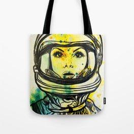 Space Woman Tote Bag
