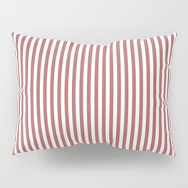 Dusty Cedar Stripes Pillow Sham