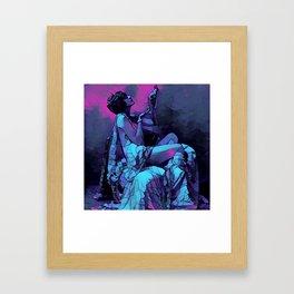 Queen Gothica Framed Art Print