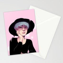 Pink Yoongi Stationery Cards