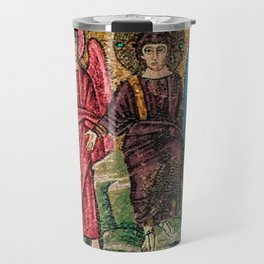 Judgement Day of the Sheep and the Goats Mosiac Basilica of Saint Apollinare Nuovo, Ravenna, Italy Travel Mug
