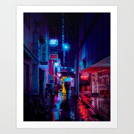 Tokyo Nights / Minutes To Midnight / Liam Wong Art Print