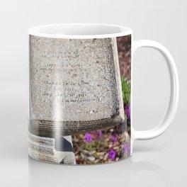 Holy Bible In Stone Coffee Mug