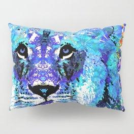 Lion Art - Beauty And The Beast - Sharon Cummings Pillow Sham