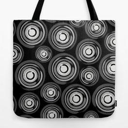 Enso Circles - Zen Circles pattern #2 Tote Bag