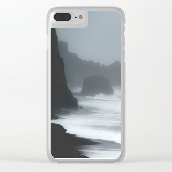 Pacific Northwest Beach Storm Clear iPhone Case