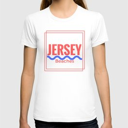 Jersey Beaches Graphic T-shirt