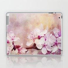Pink Pastel Cherry Blossom Sakura Laptop & iPad Skin