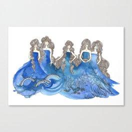 Salt Sisters Canvas Print