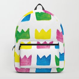 Happy, Happy Crowns Backpack