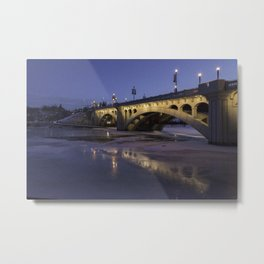 Early Morning Centre St. Bridge Metal Print