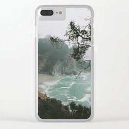 Foggy Day in Big Sur Clear iPhone Case