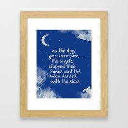 Lullabye Framed Art Print