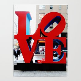 Love Sign Nyc Poster