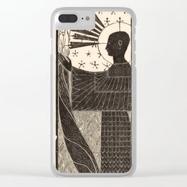 Standing Figure by Mathieu Lauweriks, 1935 Clear iPhone Case
