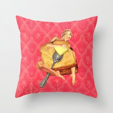 Toasted Throw Pillow