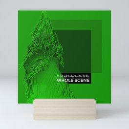 WHOLE SCENE Mini Art Print