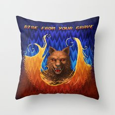 Beast Alterations - Rise From Your Grave Throw Pillow