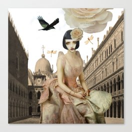Pretty imagination Canvas Print