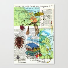 Some things (real or imagined) I would buy Canvas Print