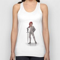 knight Tank Tops featuring Knight by Abbi Laura