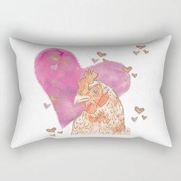 Chicken Love Rectangular Pillow