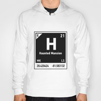 haunted mansion Hoodies featuring elements of H (Haunted Mansion) by designoMatt