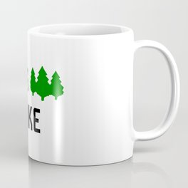 Hikers Lets Hike Backpacker Camper Coffee Mug