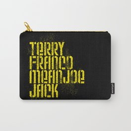 Terry Franco Mean Joe Jack / Black Carry-All Pouch