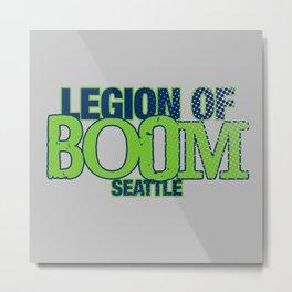 LEGION OF BOOM Metal Print
