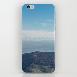 View at the Alps iPhone Skin