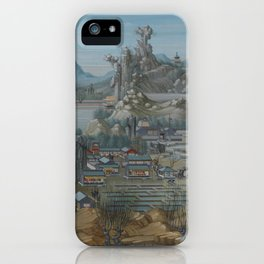 Old Chinese LANDSCAPE iPhone Case