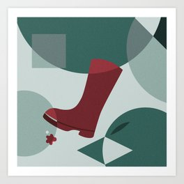 The Boot Art Print