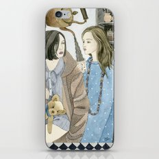 Just Between Us Girls iPhone Skin