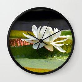 Victoria Lily Wall Clock