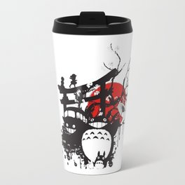japanes ghibli Travel Mug