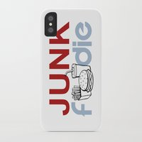 junk food iPhone & iPod Cases featuring I HEART Junk Food by HemantS